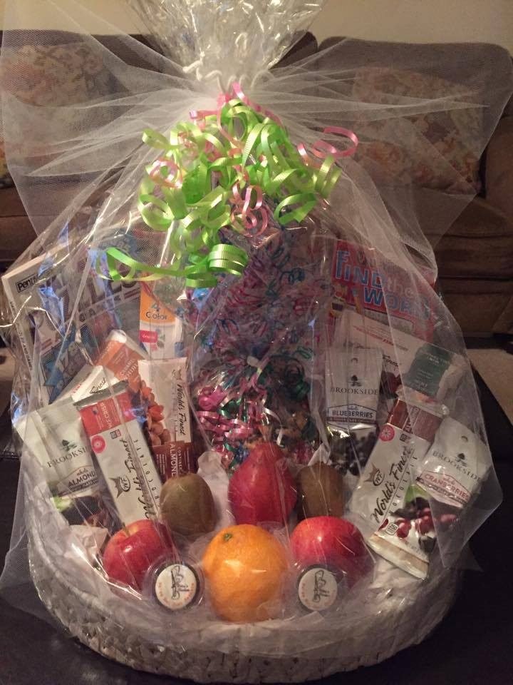 Fruit, Nut & Chocolate Basket for Mom | Betsys Baskets
