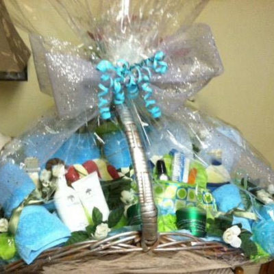 Spa Basket for Mom $100